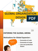 Global Organization Design