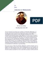 TaiSitu Rinpoche on Mahamudra