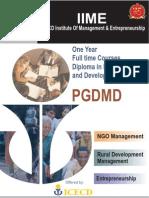 IIME PGDM Residential Programme