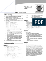 Double Bass Mystery Cambridge English Readers Worksheet (1)