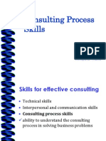 Consulting Process Skills