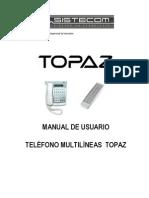 Topaz Manual Multi Line As