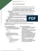 Stat 115 - Basic Statistical Methods