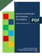 guia da certifica+º+úo de entidades formadoras