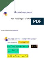 Numeri complessi 2