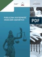RaportPublicznadostepnoscorzeczensadowychFINAL