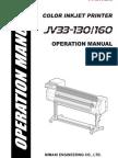 JV33Series Operation D201694 V1.6