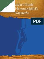 A Reader's Guide to Dag Hammarskjöld's Waymarks
