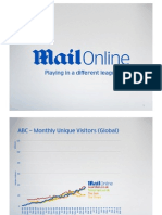 DMGT Investor Day 2012 - Mail Online