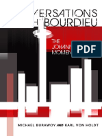 Conversations with Bourdieu - The Johannesburg Moment