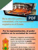 CDG - Organización de la representación en las Cámaras