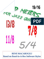 Odd Meters for Guitar Jazz