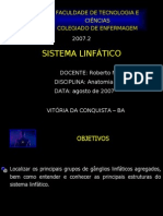 05.1 SISTEMA LINFÁTICO