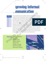 Improving Informal Communications