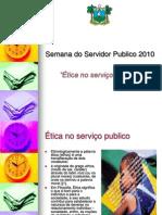 ética no serviço publico