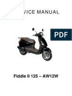Sym Fiddle125 Service Manual