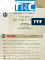 The Future of Technology in Recruitment 2008