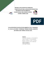 proyecto educacion ambiental ubv