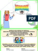 Diaspositivas socializacion gestion ambiental ubv
