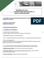 1298247899_Turma Portugues Aplicado 1-2011 - Aula 1