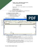Memorias Word - Excel