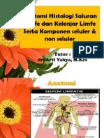 Anatomi Histologi Saluran Limfe Dan Kelenjar Limfe Serta