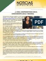 El OECC y el CEDU, comprometidos con el conocimiento local y regional