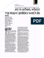 The Future is Urban Where Up Mayo Just Won't Do Irish Times