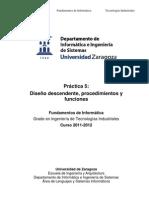 5.Diseno Descendente Procedimientos y Funciones