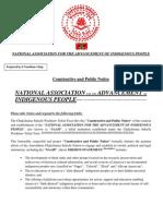 NAAIP Public Notice