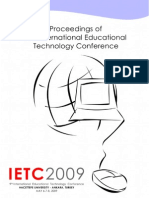 2151910 Ietc09 Proceedings