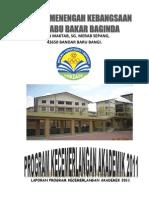 Kertas Kerja - Program Kecemerlangan Akademik 2011