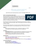 IP Preliminary Info in English 2009