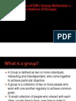 6 - Dynamics of OB ( Group Behaviour )