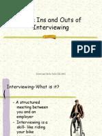 Facing Interviews