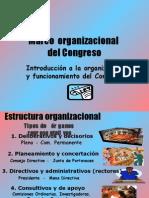 CDG - Marco organizacional del Congreso