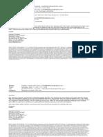 CFTC Response to Bob English FOIA Request