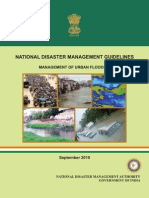 NDMA Guidelines on the Management of Urban Flooding - Naresh Kadyan