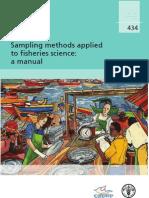 Sampling Methods Applied to Fisheries Science