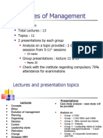 Lecture -1 Management Functions and Principles
