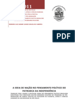 TRABALHO FINAL = DISCIPLINA TEMAS DO PENSAMENTO POLÍTICO BRASILEIRO = ADAMI CAMPOS