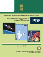 NDMA Guidelines for National Disaster Management Information and Communication System - Naresh Kadyan