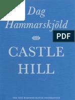 Castle Hill - by Dag Hammarskjöld