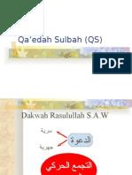 Qaedah Sulbah