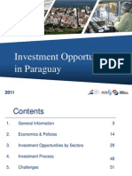 Paraguay Investment Opportunities 2011[ENG]