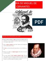La Obra de Cervantes