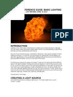 Ucbugg Reference Guide Basic Lighting
