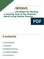Bubble Sensing