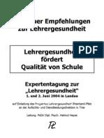 Landauer-Empfehlungen