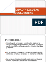 Punibilidad y Excusas Absolutorias